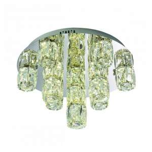 Prisma Fifteen Cool White Ceiling Light