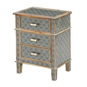 Ralston Bedside Cabinet In Aztec And Peruvian Design