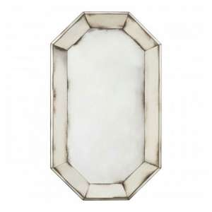 Raze Venetian Wall Bedroom Mirror In Antique Silver Frame