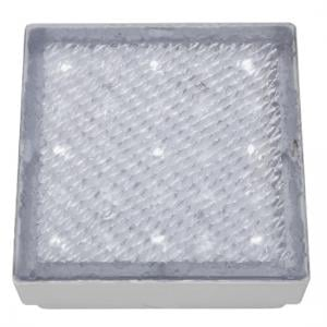 Recessed Small Square Walkover Light With White LED