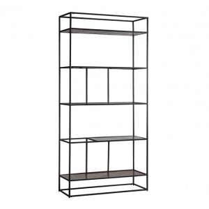 Retiro Display Unit In Antique Copper With Black Metal Frame