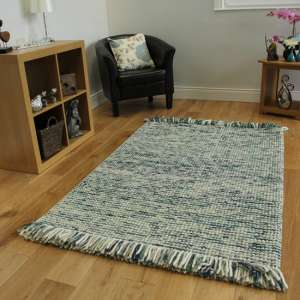 Retreat Maya Teal And Turq Rug