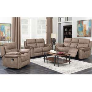 Richmond 3 Seater Sofa And 2 Armchairs Suite In Sahara