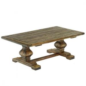 Rossini Wooden Coffee Table Rectangular In Walnut