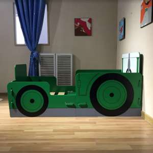 Rowan Tractor Ted Junior Toddler Bed In Green
