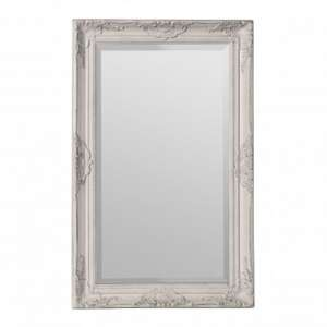 Rustin Classical Design Wall Bedroom Mirror In Cream Frame