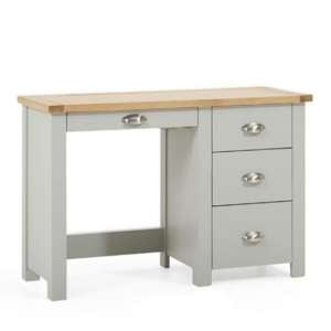 Sandringhia Wooden Dressing Table In Oak And Grey