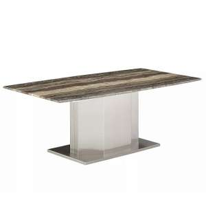 Santino Marble Coffee Table Rectangular In Travertine
