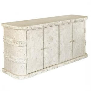Sawyer Sideboard In Mactan Stone With 4 Doors