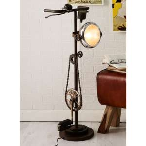Secundus Cycle Chain Stand Floor Lamp