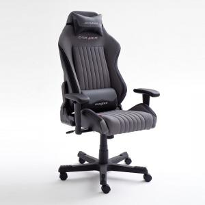 Sedan Home Office Chair In Black And Grey With Castors