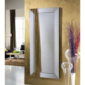Serre Designer Narrow Rectangular Wall Mirror
