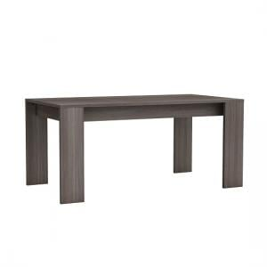 Silvina Wooden Dining Table Rectangular In Vulcano Oak
