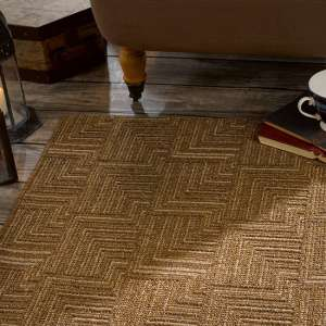 Skyline Pinacle Brown Rug