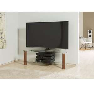 Sligo Large LCD TV Stand In Walnut