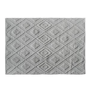 Soria Small Fabric Upholstered Rug In Cream