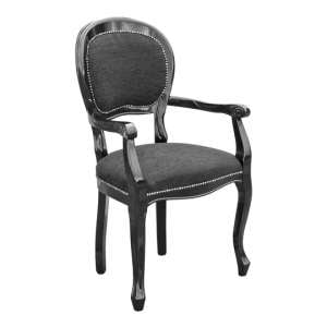 Spoonback Carver Dining Chair With Wooden Frame