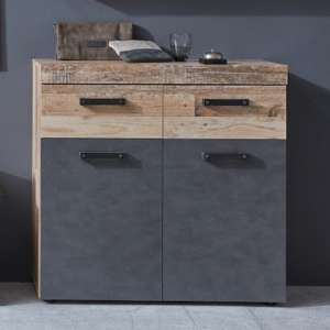 Tailor Shoe Storage Cabinet In Pale Wood And Matera