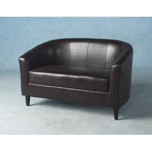 Tempo Twin Tub Chair In Expresso Brown