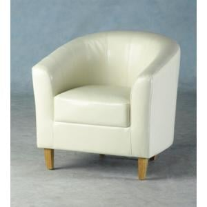 Tempo Tub Chair In Cream