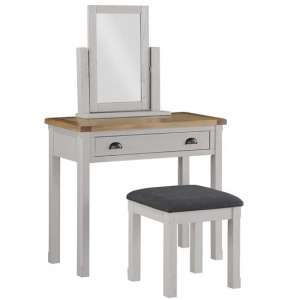 Tertia Stone Painted Dressing Table And Stool