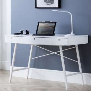 Trianon Wooden Laptop Desk In White