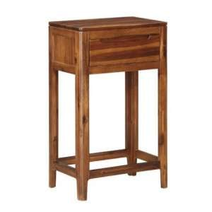 Trimble Wooden Hall Table In Rich Acacia Finish