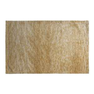 Trivago Large Fabric Upholstered Rug In Ochre