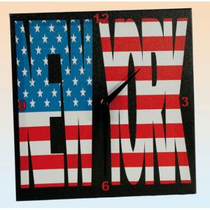 New York Canvas Wall Clock