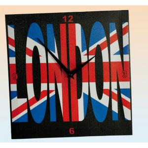 London Canvas Wall Clock