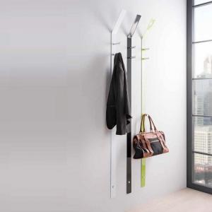 Wardley Apple Green  Wall Mounted Coat Rack In Metal With 3 Hook