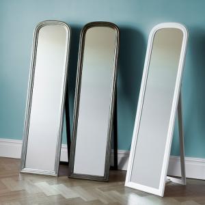 313e7c0ac07 Woven Rectangular Cheval Floor Standing Mirror