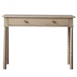 Wyfeen Wooden 1 Drawer Dressing Table In Natural
