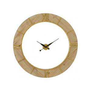 Yaxi Wall Clock With White Face