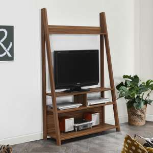 Yoder Wooden Entertainment Unit In Walnut Finish